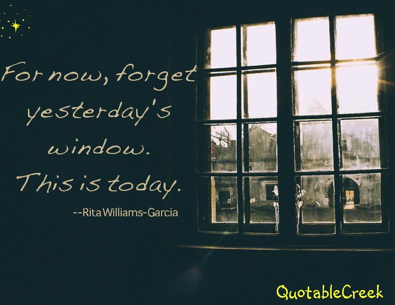 yesterday's window