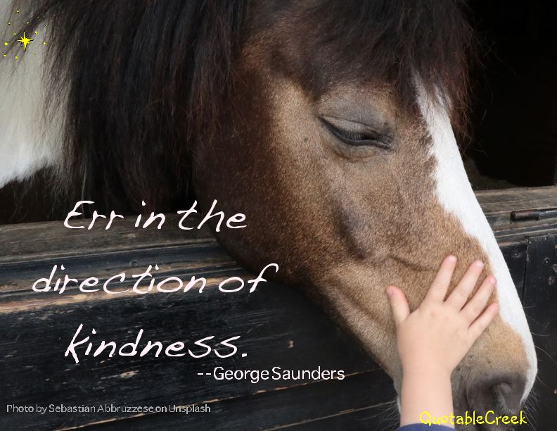 direction of kindness